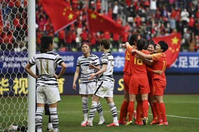 """直击东京奥运会,中国女足打响""""第一枪"""""""
