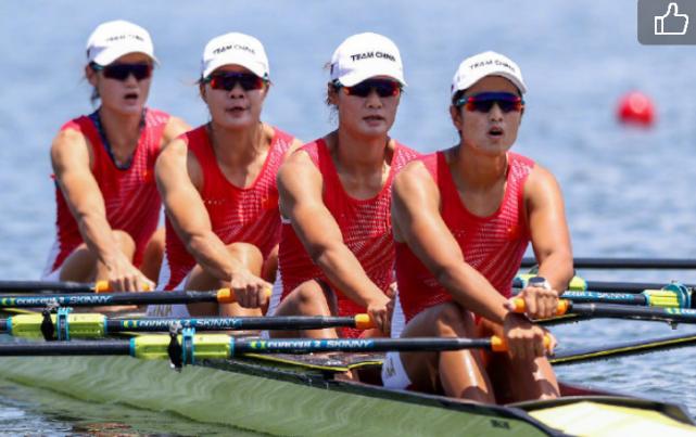 准备五年,只为夺冠军!中国女子四人双桨赛破纪录夺冠