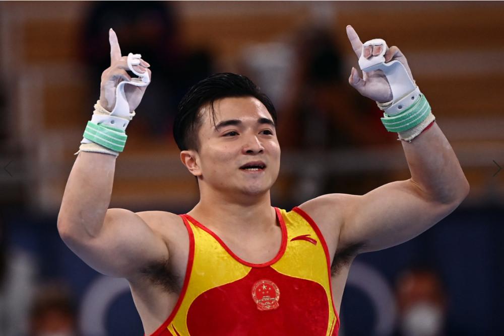 中国队包揽冠亚军!刘洋夺体操吊环金牌 尤浩摘银